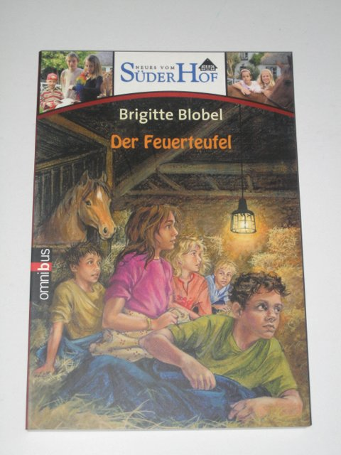 Brigitte Blobel: Der Feuerteufel. Süderhof!